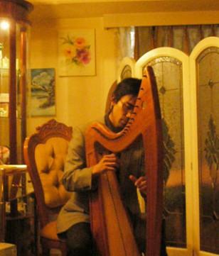 ~光の写真展&アイリッシュハープコンサート~/ 2008年12月12日(金)